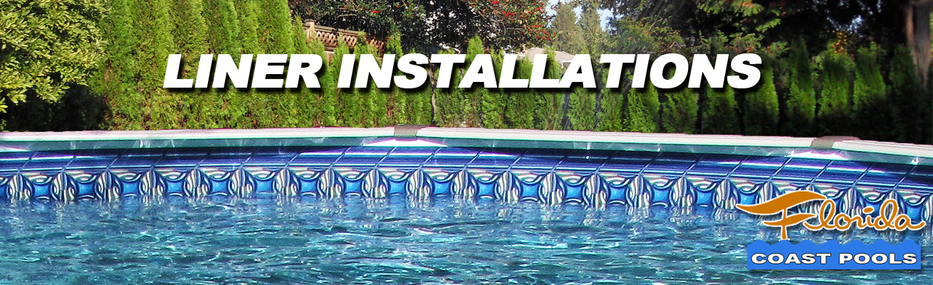 Above Ground Pool Liners Installed