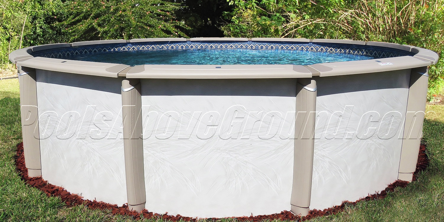 Best above ground resin pool for miami florida for Resin above ground swimming pools