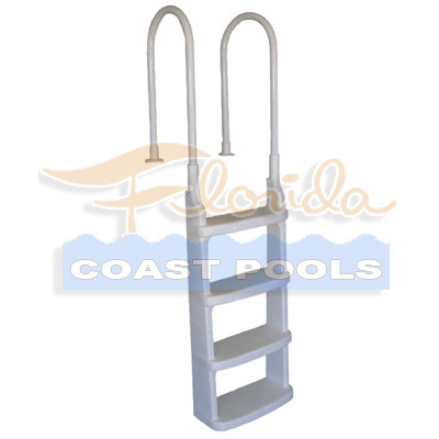 Above Ground Pool Deck Ladder Easy Incline