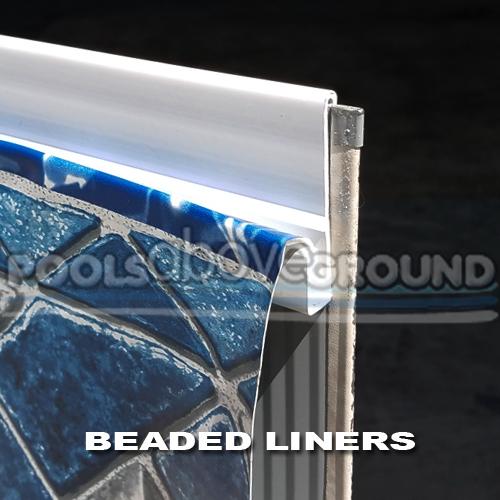 Beaded Pool Liners