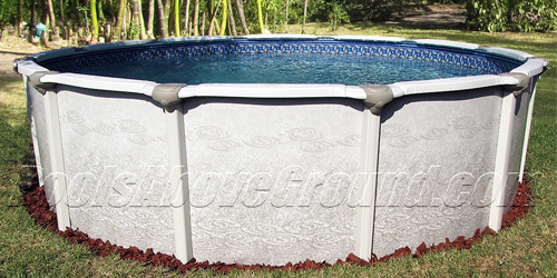 Deltona Budget Friendly Resin Above Ground Pool