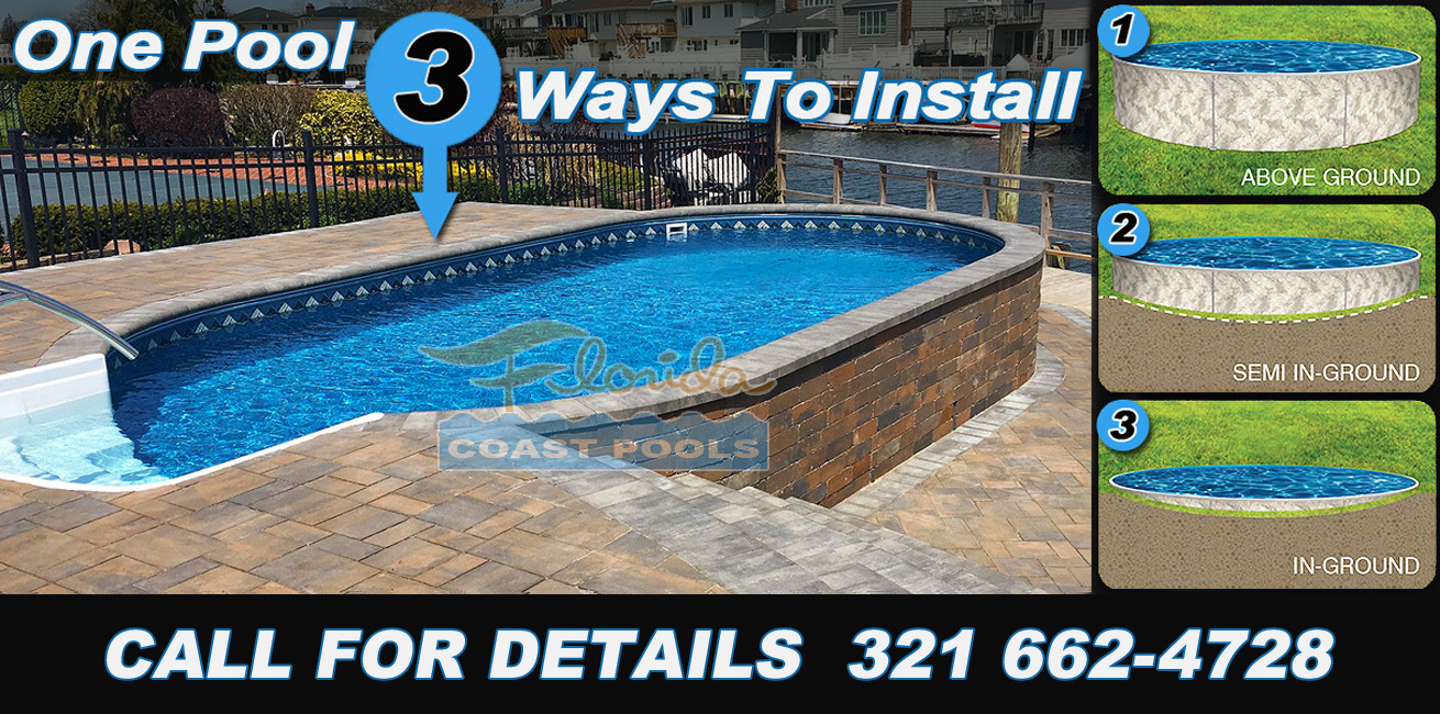 Florida Above Ground Pools Installed
